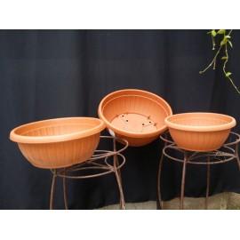 Pots suspendu marron sans soucoupe Ø 40 cm